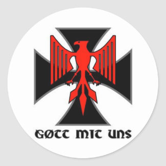 Pegatina de los uns del mit del Gott de Haus