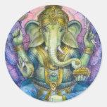 Pegatina de Lotus Ganesha