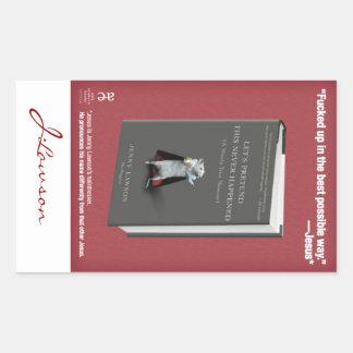 Pegatina de LPTNH (bookplate) - hoja de 4