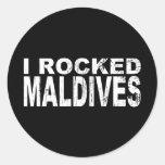 Pegatina de Maldivas
