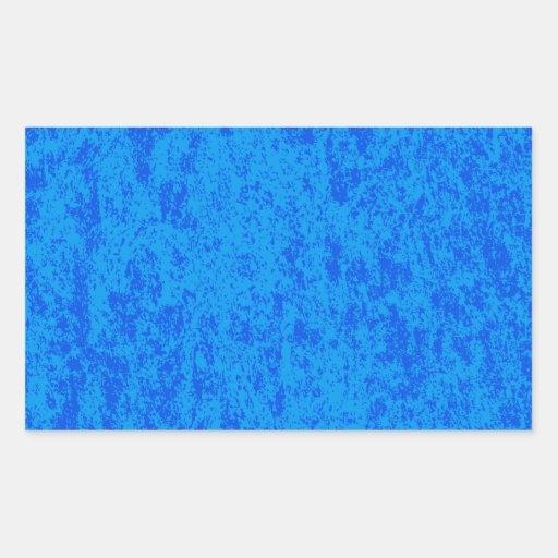 Pegatina de mármol azul del rectángulo