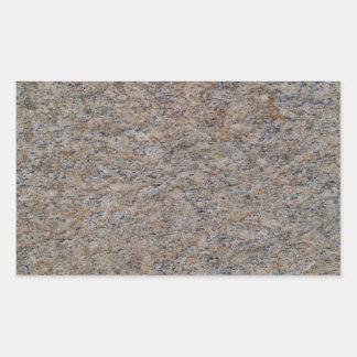 Pegatina de mármol oxidado del rectángulo de Brown