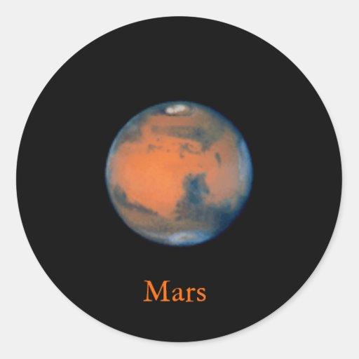 Pegatina de Marte