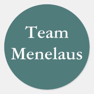 Pegatina de Menelaus del equipo