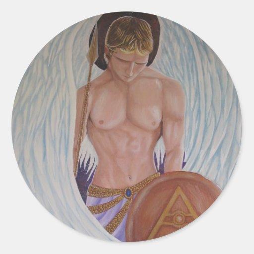 Pegatina de Michael del arcángel