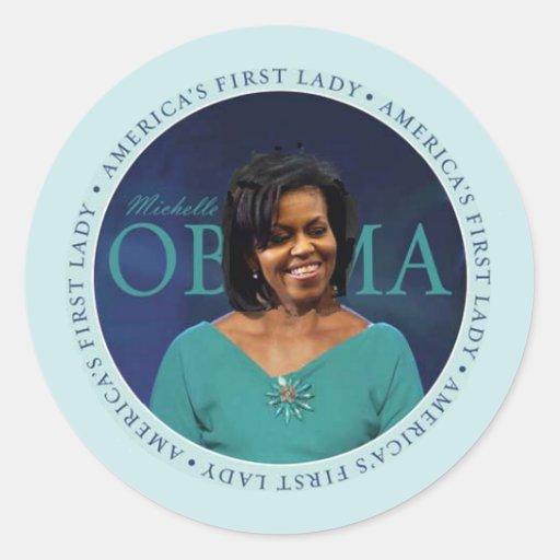 Pegatina de Michelle