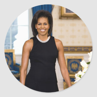 Pegatina de Michelle Obama