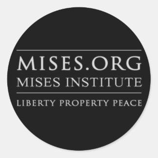 pegatina de Mises.org