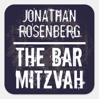 Pegatina de Mitzvah de la barra de la banda de roc