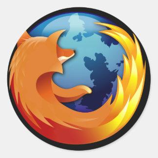 Pegatina de Mozilla