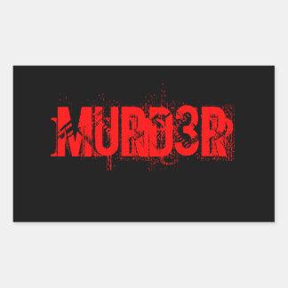 Pegatina de MURD3R