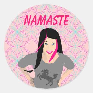 Pegatina de Namaste