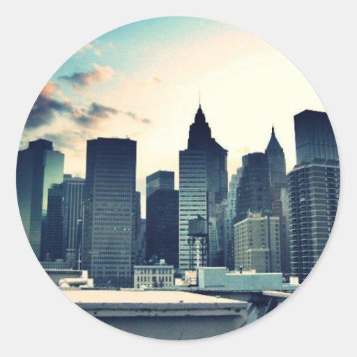 Pegatina de New York City