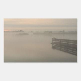 Pegatina de niebla del día 4