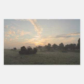 Pegatina de niebla del día 6