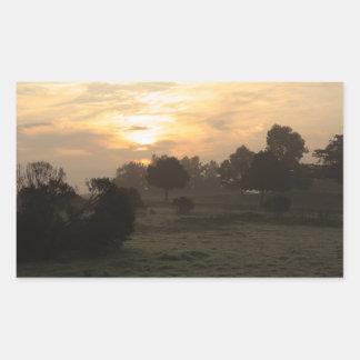 Pegatina de niebla del día 7