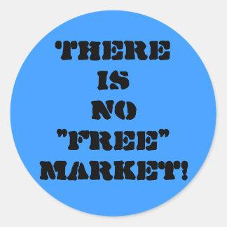 """Pegatina de """"ningún mercado libre"""""""