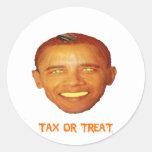 Pegatina de Obama Halloween