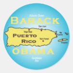 Pegatina de Obama Puerto Rico