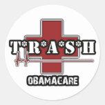 Pegatina de Obamacare de la basura