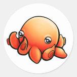 Pegatina de Octobuddy redondo