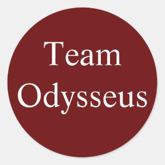 Pegatina de Odiseo del equipo
