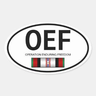Pegatina de OEf