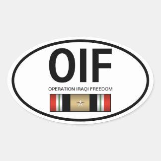 Pegatina de OIF