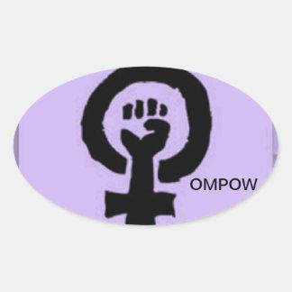 Pegatina de OMPOW