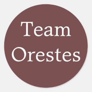 Pegatina de Orestes del equipo