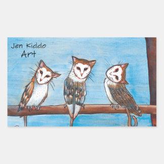 Pegatina de Owlcats