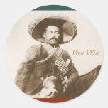 Pegatina de Pancho Villa
