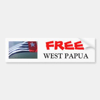 Pegatina de Papua Pegatina Para Auto