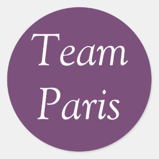 Pegatina de París del equipo