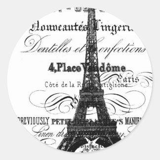 Pegatina de Paris_Eiffel Tower_Envelope