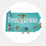 Pegatina de Pennsylvania
