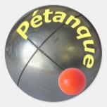 Pegatina de Petanque
