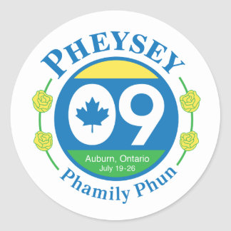 Pegatina de Phamily Phun - grande