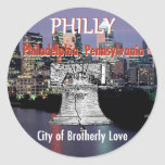 Pegatina de Philadelphia Pennsylvania