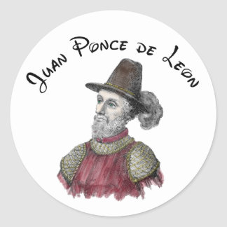 Pegatina de Ponce de León