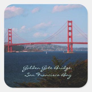 Pegatina de puente Golden Gate