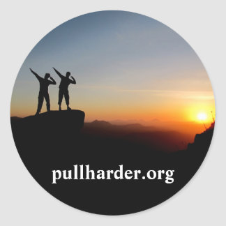 Pegatina de Pullharder