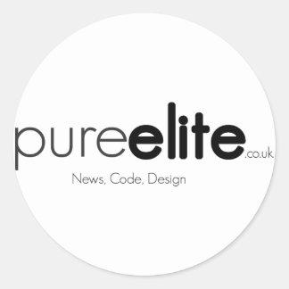 Pegatina de Pureelite V1 (básico)