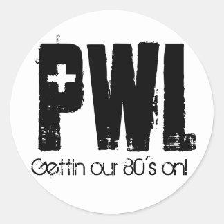 Pegatina de PWL