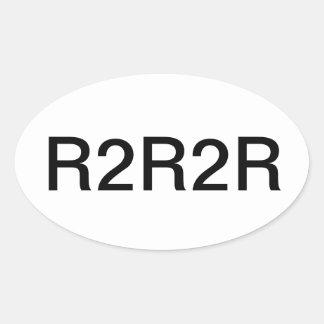 Pegatina de R2R2R