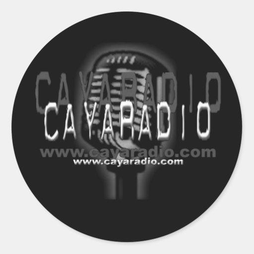 Pegatina de radio de CAYA
