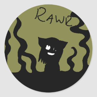 Pegatina de Rawr