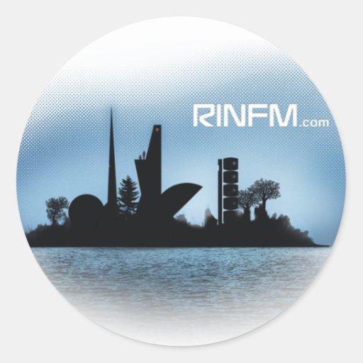 Pegatina de Rinfm