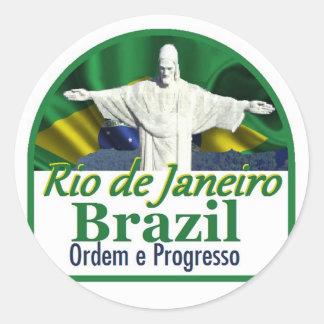 Pegatina de Río de Janeiro el Brasil