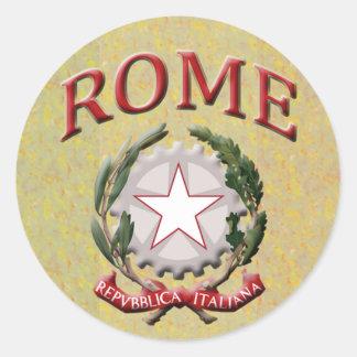Pegatina de Roma